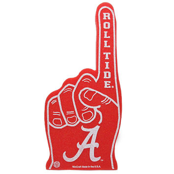 Alabama Crimson Tide WinCraft #1 Foam Finger
