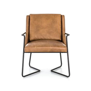 Lowell Chair in Patina Copper – BURKE DECOR