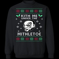 Kith Me Ugly Christmas Sweater