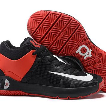 HCXX N310 Nike Zoom KD Trey 5 iv Low Actual Basketball Shoes Black Red