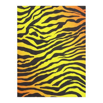 Tiger Stripes Fleece Blanket