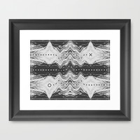 """""""Mapath"""" Framed Art Print by Bryon S White"""