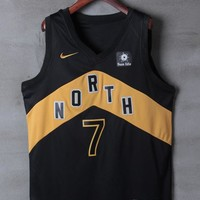 Toronto Raptors #7 Kyle Lowry Nike North City OVO Edition NBA Jerseys - Best Deal Online