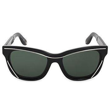 Givenchy 7028s 807 Black 7028s Cats Eyes Sunglasses Lens Category 3 Size 56mm