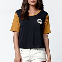 Volcom Block Cropped Short Sleeve T-Shirt - Womens Tee