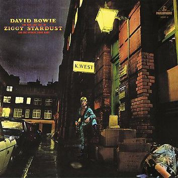 David Bowie Rise And Fall Of Ziggy Stardust & The Spiders Of Mars LP Gold Vinyl