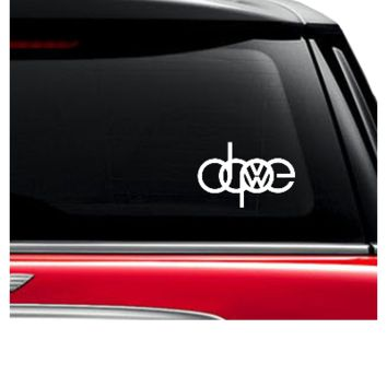 dope vw sticker car decals