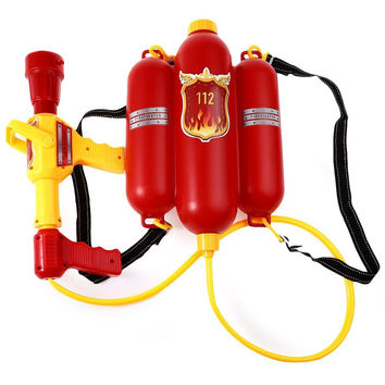 Cute Outdoor Super Soaker Blaster Fire Backpack watergun