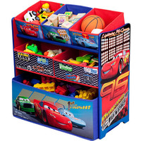 Walmart: Disney - Cars Multi-Bin Toy Organizer