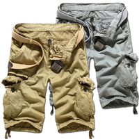 Distressed Style Men's Cargo Shorts