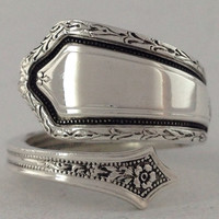 Size 6 Vintage Sterling Silver Towle Spoon Ring