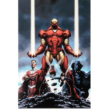 Iron Man #84 - Limited Edition Giclee on Stretched Canvas by Steve Epting and Marvel Comics