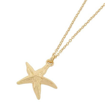 Star of the Sea Necklace Gold