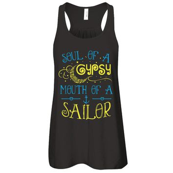 Soul Of A Gypsy Mouth Of A Sailor V1 T-Shirt Women
