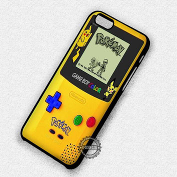 Retro Game Boy Pikachu - iPhone 7 6 Plus 5c 5s SE Cases & Covers