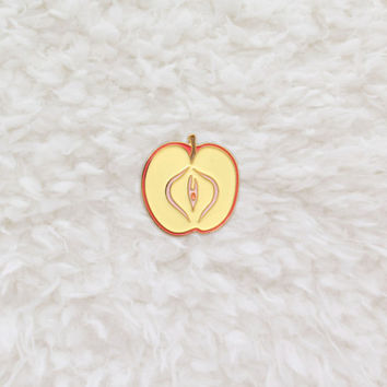 Forbidden Fruit Lapel Pin