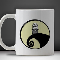 Llittle Minion Disney Nightmare Before Christmas Mug, Tea Mug, Coffee Mug