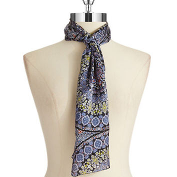 Echo Medallion Silk Scarf