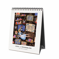 2017 Alice in Wonderland Desk Calendar
