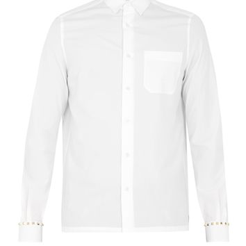 Rockstud Untiled #5 single-cuff cotton shirt | Valentino | MATCHESFASHION.COM UK