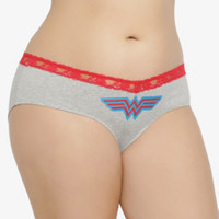 Wonder Woman Cotton Hipster Panty