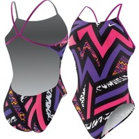 Nike Women's POW! Cut-Out Back Tank Swimsuit - Dick's Sporting Goods