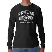 New dad 2011 t-shirt from Zazzle.com
