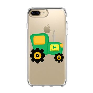 JOHN DEERE 2 iPhone and Samsung Galaxy Clear Case