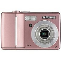 Samsung S730PINK S730 7.2 Megapixels Digital Camera - 3x Optical Zoom/5x Digital Zoom - 2.5-inch LCD Display - MultiMedia/SD - Pink