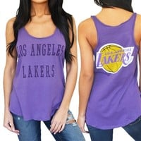 Los Angeles Lakers Womens Tank Top | SportyThreads.com