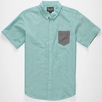 Retroft Nathan Boys Shirt Mint  In Sizes