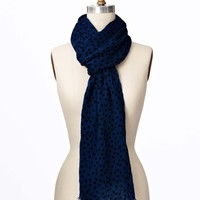 Dot Luxe Wool Scarf