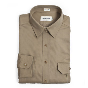 Khaki Twill Highlands Shirt