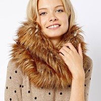 ASOS Faux Fur Funnel Snood