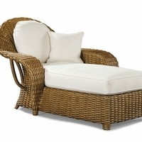 Veranda Wicker Chaise