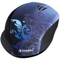 Verbatim Wireless Optical Mouse (blue)