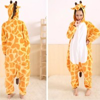Special Price Women's Giraffe Love Live Sunshine Cosplay Full Sleeve Polyester Sleep Lounge Onesuits Mens Body Suits