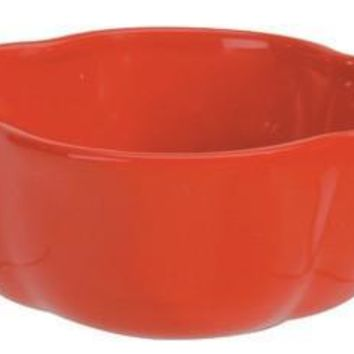 Red Bell Pepper Ceramic Bowl