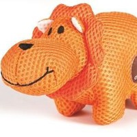 Lil Roamers Mesh Lion Dog Toy