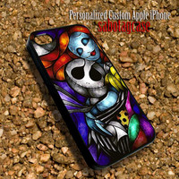 Jack And Sally Sabotagcase - Personalized Custom iPhone 4 4S iIPhone 5 5S 5C Samsung Galaxy S3 and S4 Accessories Case - 03Jan1419