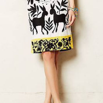 NWT Anthropologie Sonja Embroidered Pencil Skirt Sz 0 P - by Vanessa Virginia