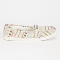 Roxy Lido Womens Slip-On Shoes Tan  In Sizes
