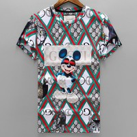 Gucci  Men Fashion Casual  Shirt Top Tee