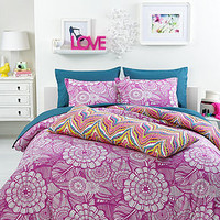 CLOSEOUT! Trina Turk Jungle Bloom Comforter Sets