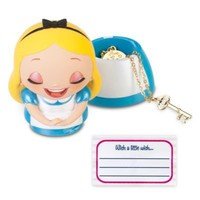 Kidada for Disney Store Wish-a-Little Alice in Wonderland Figure with Charm Necklace | Jewelry | Disney Store