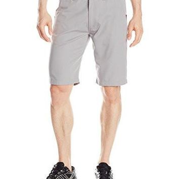 adidas Originals Men's Sport Luxe Twill Short, Medium, Solid Grey