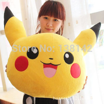 Pokemon Pikachu plush pillow cushion plush toy doll Child or girlfriend for gifts