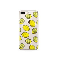 Yellow Lemon - Clear TPU Case Cover