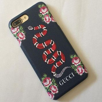 GUCCI iphone 7 mobile phone shell 7 plus phone case protective s 20816a08a