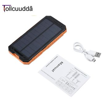 Tollcuudda 10000mAh LHSJ01 Ultra Light External Battery Power Bank Portable Double USB Interface Fast Charger For phone